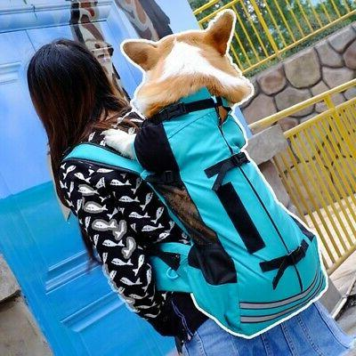 Pet Backpack Outdoor Carrier Medium Dog Breathable Easy Carr