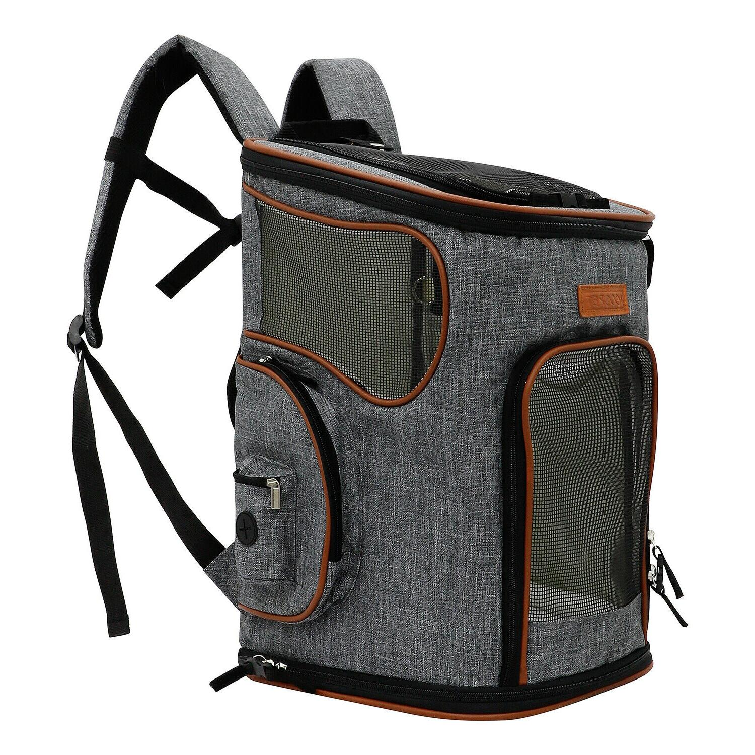 Pet Carrier Airline Approved Pet Backpack Dog Cat Puppy for