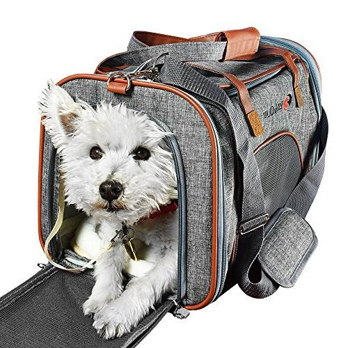 pet carrier airline approved side