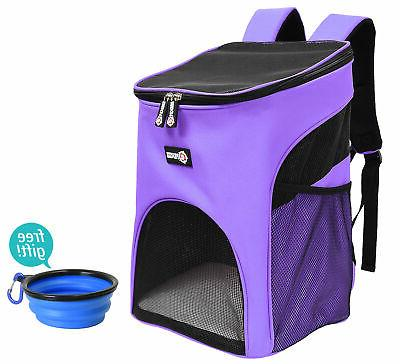 Pawsse Pet Carrier Backpack for Small Dogs, Puppies, Cats, K