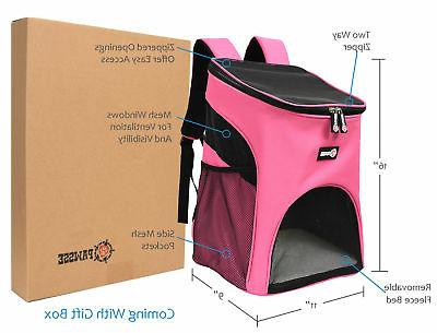 Pet Carrier Approved Xzone Safety Features Mesh Bag