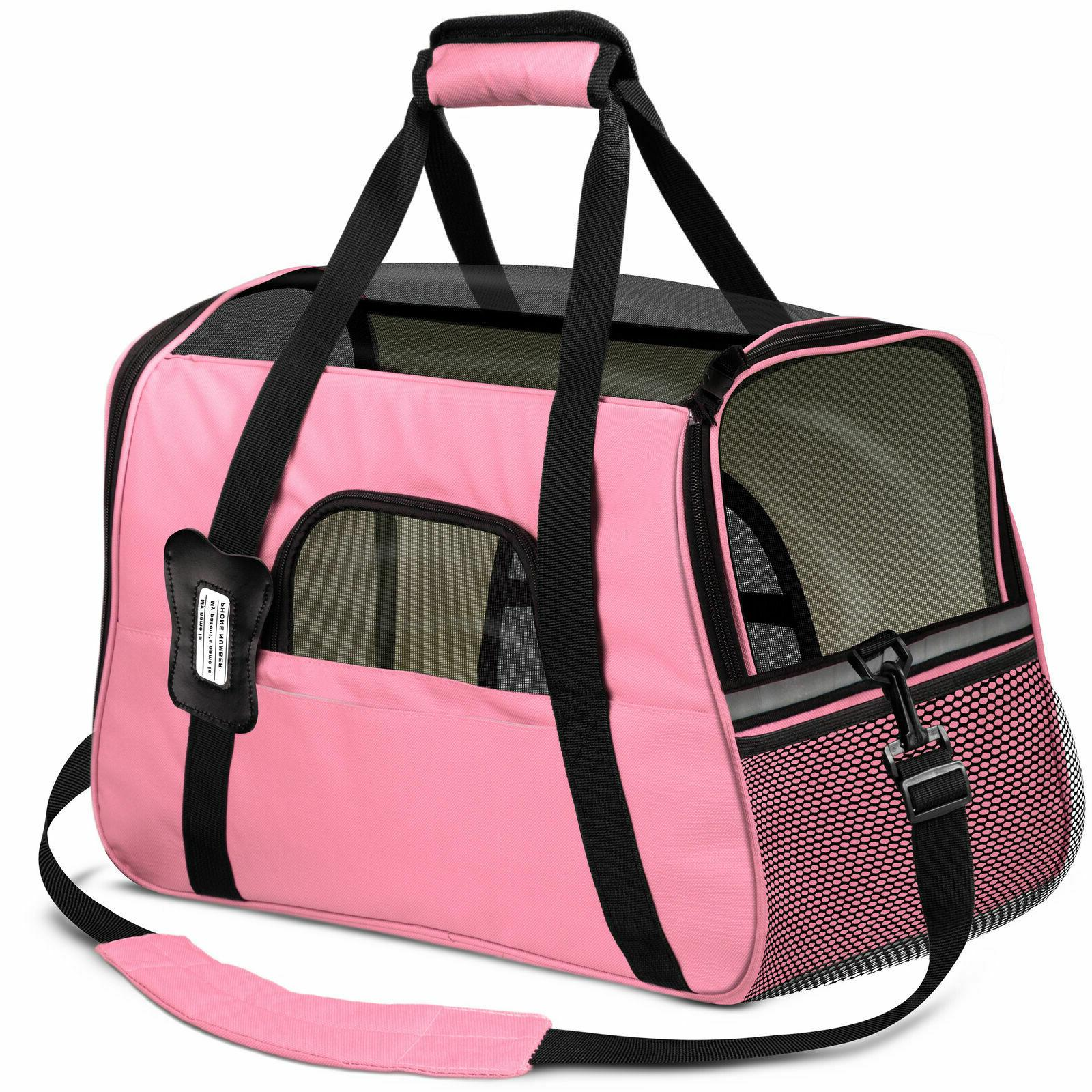 Dog Pet Small Cat Comfort Travel Airline Approved