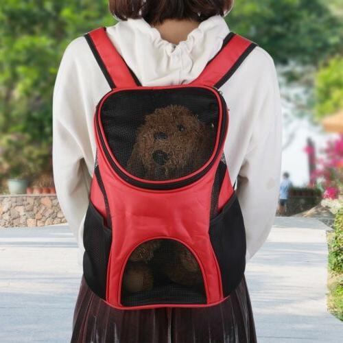 Pet Cat Puppy Backpack Portable