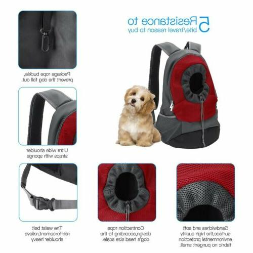 Pet Mesh Backpack Carrier