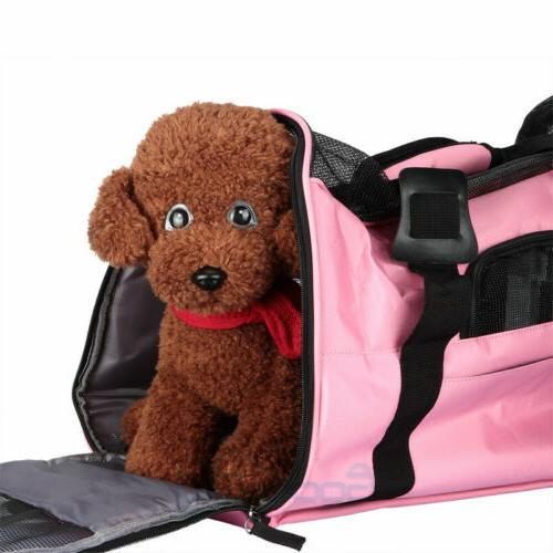 US Pet Sided Large Cat/Dog Travel Bag Approv