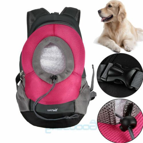 Pet Cat Puppy Mesh Backpack Head out Carrier