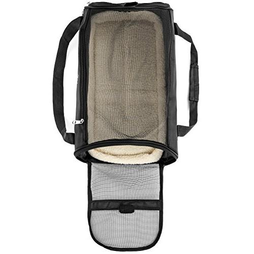 PetTech Carrier Small Puppies, Kittens, Pets, Travel Friendly, Pet and Comfortably