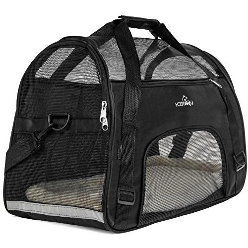 PetTech for Small Kittens, Pets, Collapsible, Friendly, and Dog Carry Pet with and Comfortably