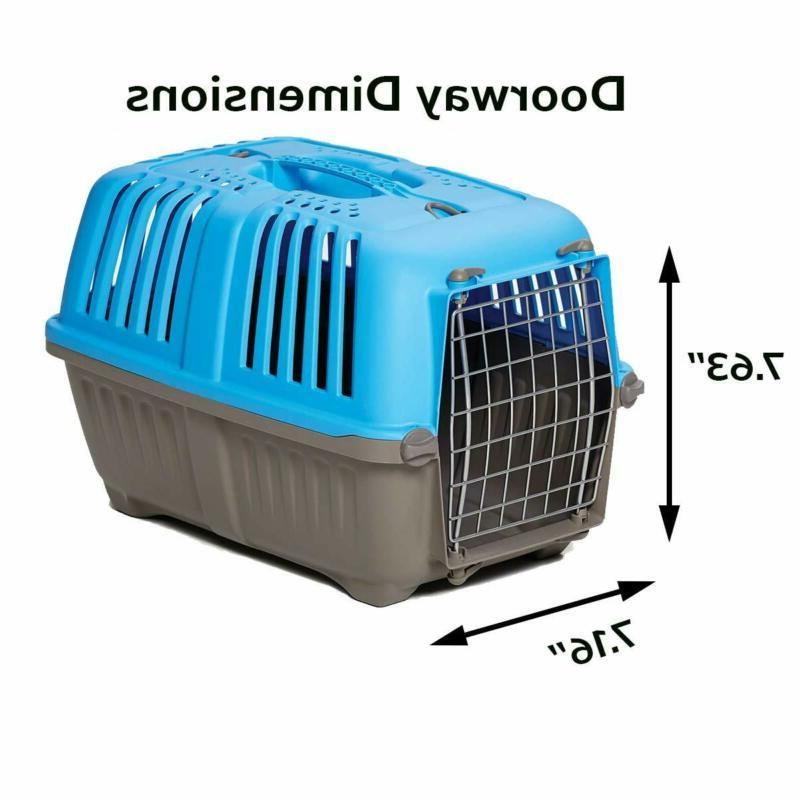 Pet Carrier Cat Home Or Traveling W/ Carrying Hard Side Inch