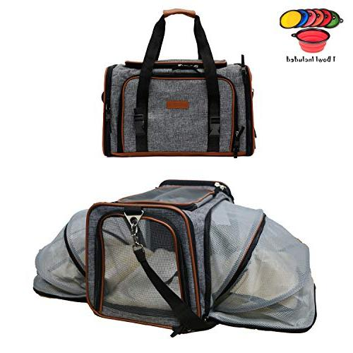 pet carrier for dogs and cats airline