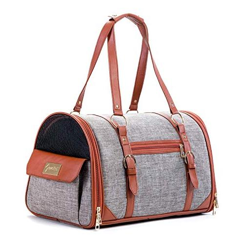 pet carrier for dogs cats airline approved