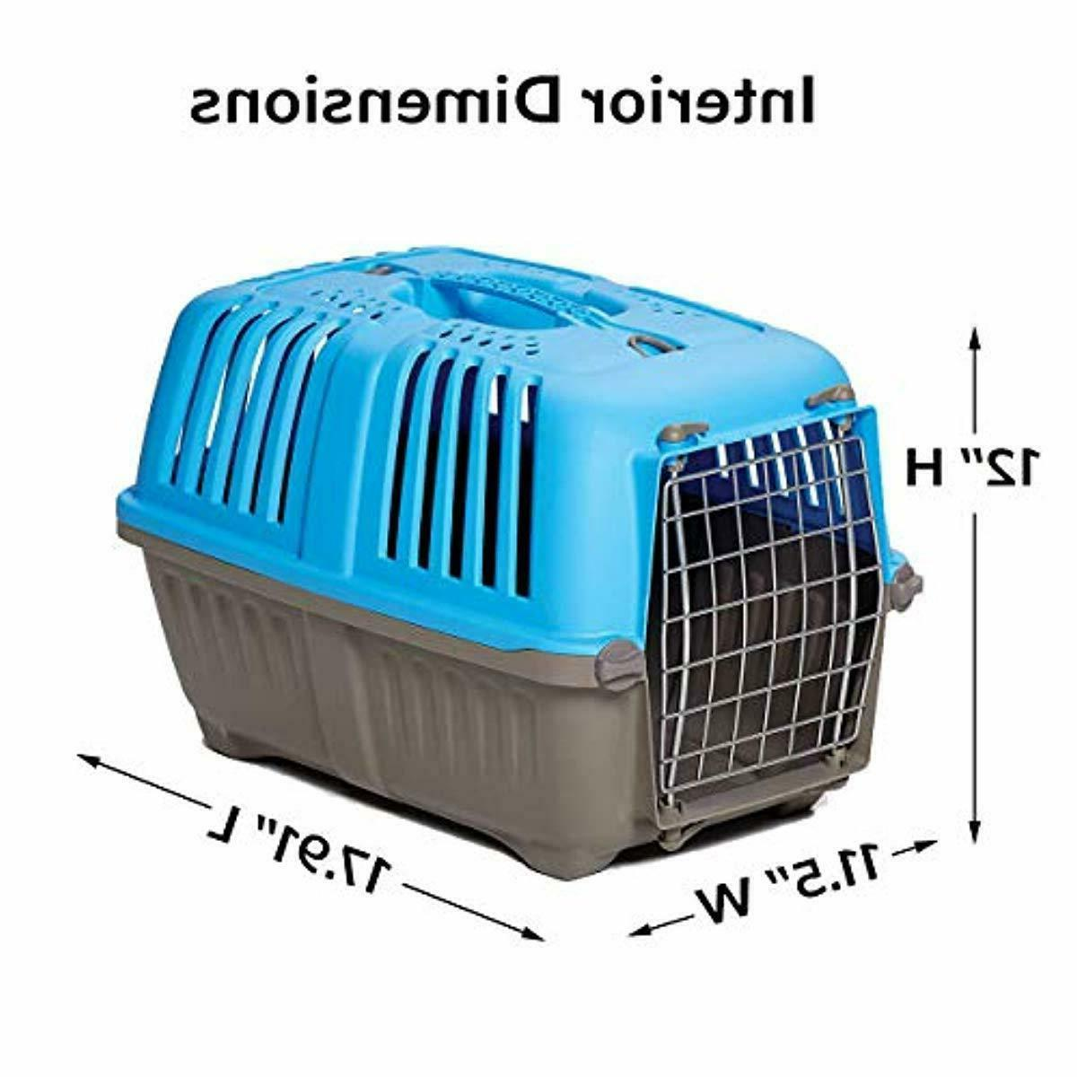 Pet Carrier For Cats Or Traveling Handle 19 Inch Hard