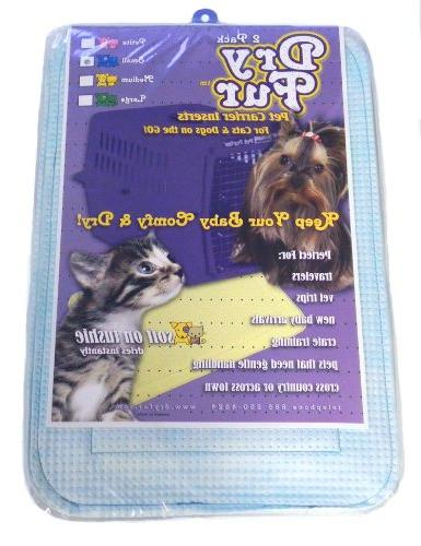 DryFur Pet Pads size Small x 2 pack