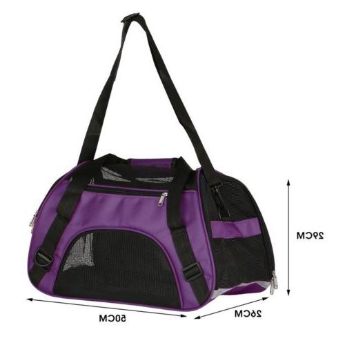 Pet Carrier Large Cat /Dog Comfort Mineral Purple Approved