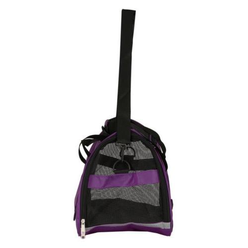 Pet Carrier Large Mineral Purple Bag Approved