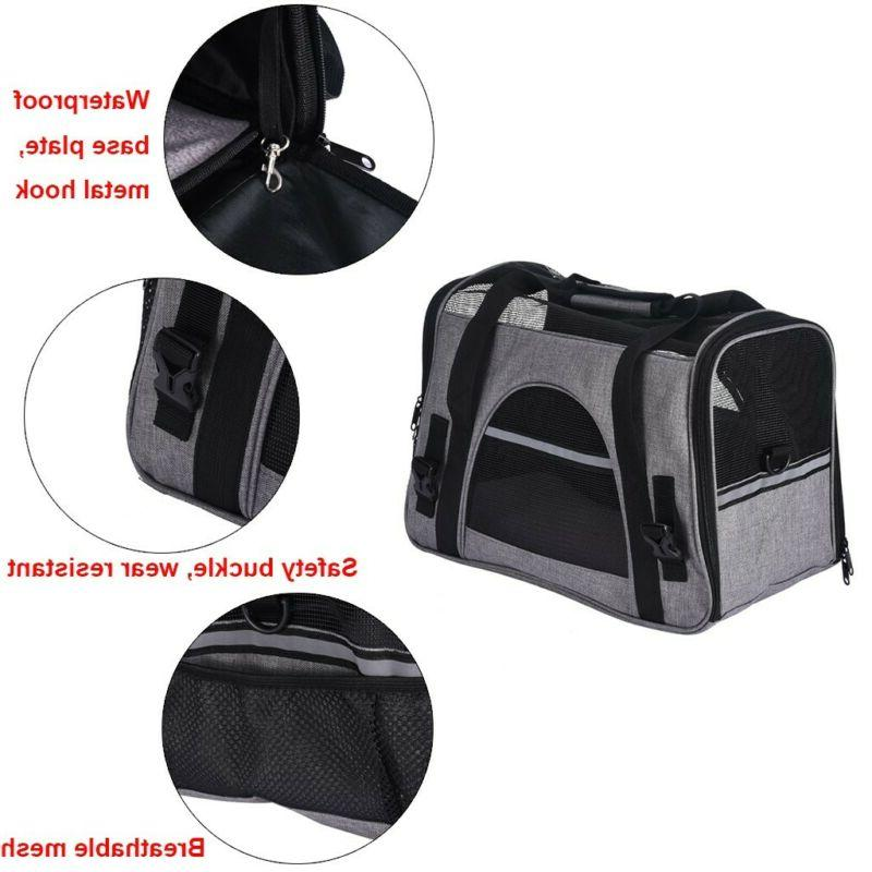 Pet Carrier Puppy Kitten Cat Tote Bag Travel Approved
