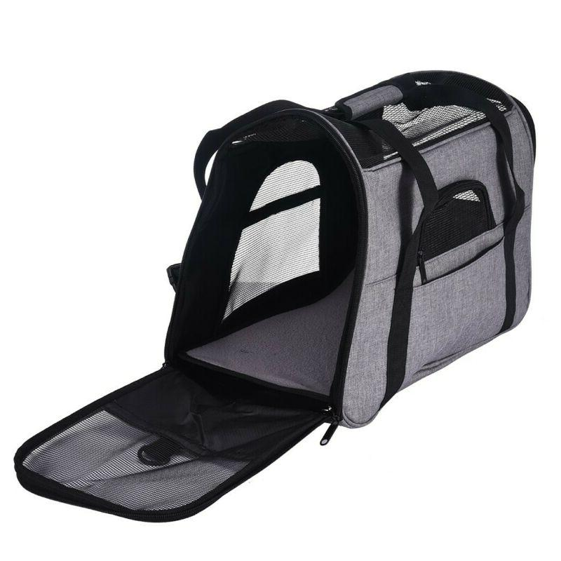 Pet Carrier Puppy Kitten Tote Bag Travel Approved US