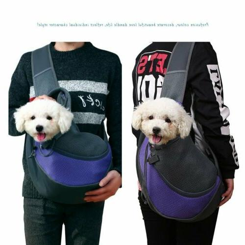 Pet Dog Pouch Sling Backpack Outdoor Bag