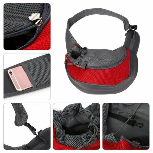 Pet Dog Mesh Backpack Travel Travel Portable Shoulder Bag US