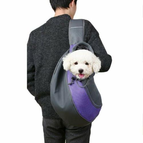 Pet Cat Carrier Dog Pouch Sling Mesh Backpack Outdoor Bag