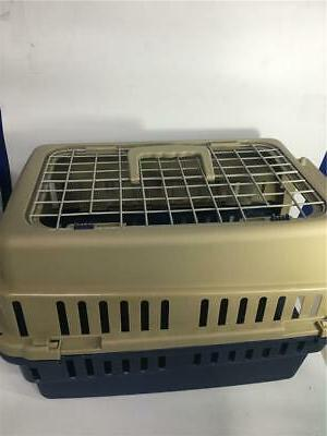 Pet Carrier Travel Portable Small Dog Blue 19 Inch