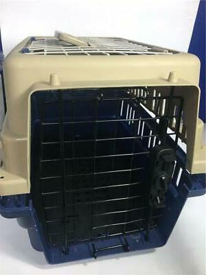 pet cat puppy carrier travel cage crate