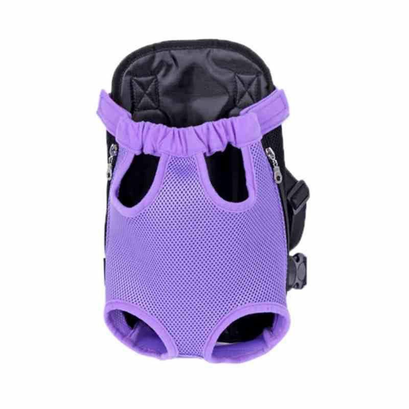Pet Backpack Puppy Pouch Front Bag Back Legs