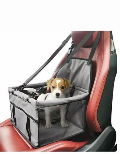 Pet Dog Car Seat Carrier Booster Foldable Breathable Up To 2