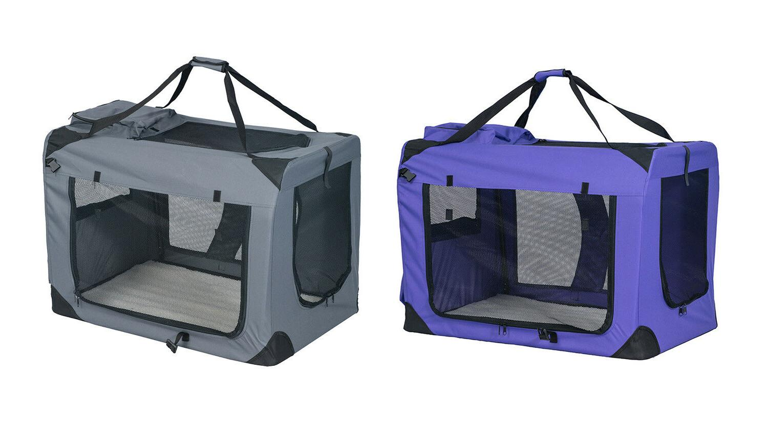pet dog carrier travel tote dog crate