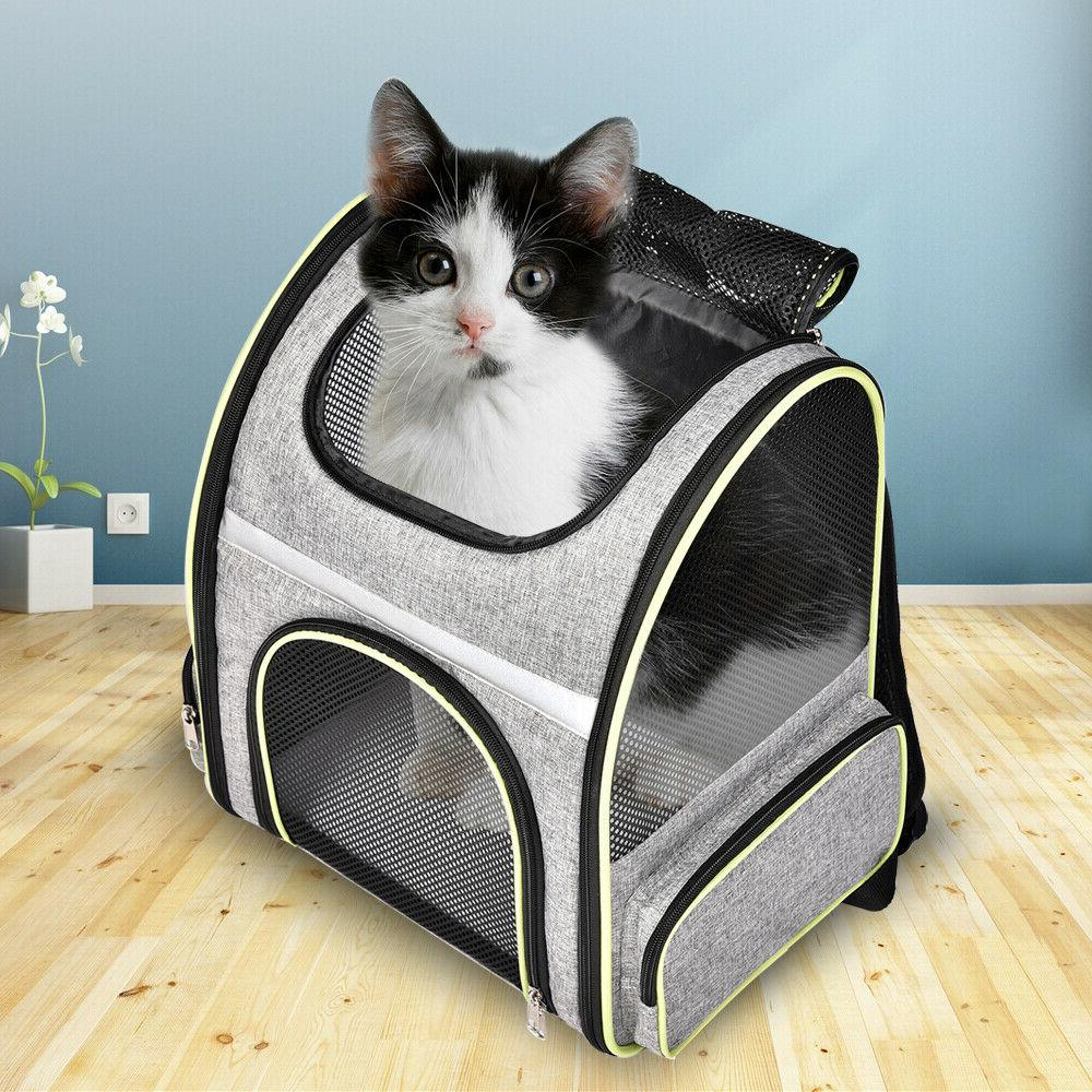 Pet Cat Backpack Breathable Tote