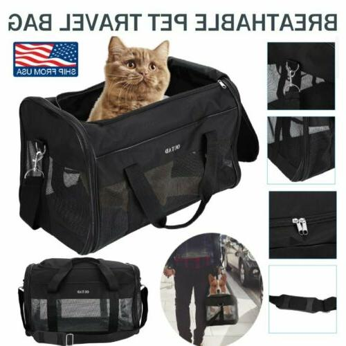 pet dog cat carrier tote cage bag