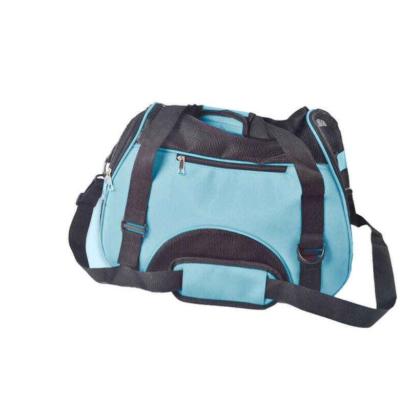 Travel Approved Carrier Soft Sided Dog Bag Easy Carry