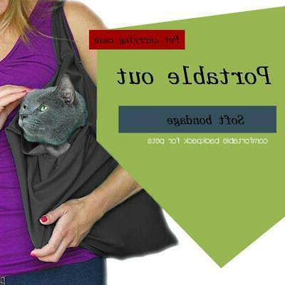 Small Pet Dog Cat Carrier Sling Bag-Hand Free Puppy Outdoor