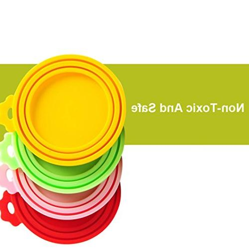 Pet Cat Dog Food Food Storage Tin Cover Seal Bottle Lids Dumanfs