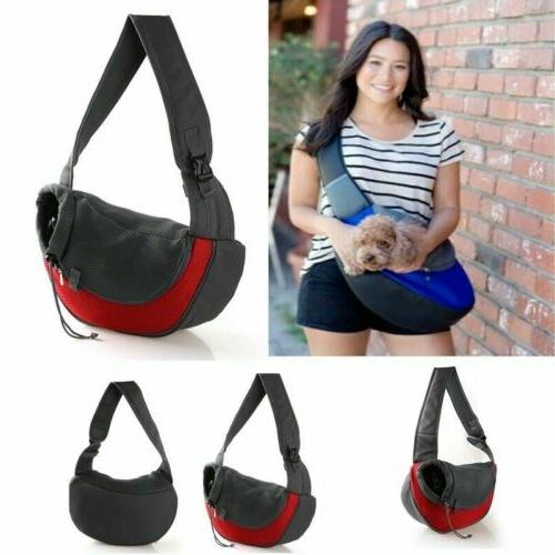 pet sling backpack cat puppy small animal