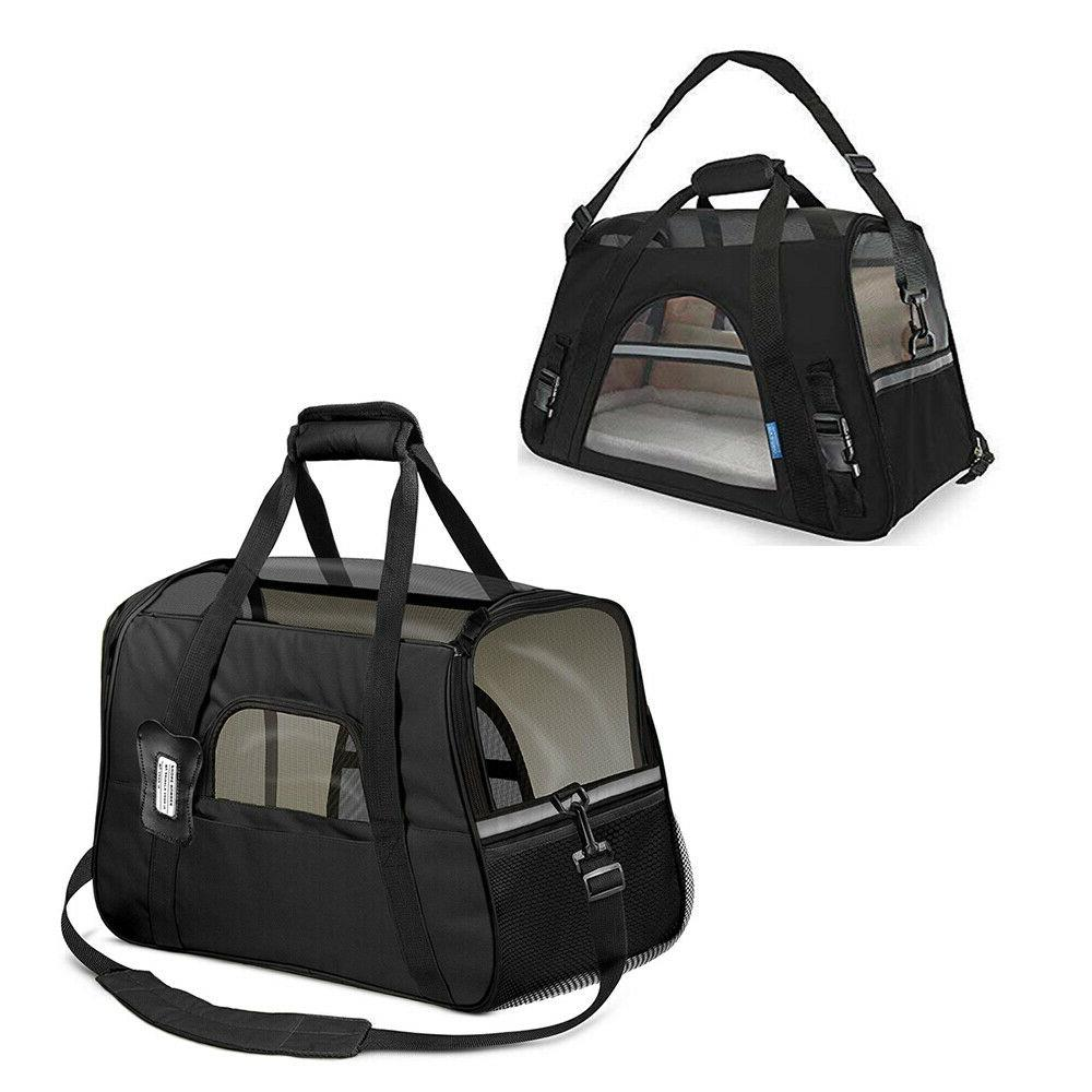 Pet Small Carrier Soft Comfort Travel Case Airline Approved