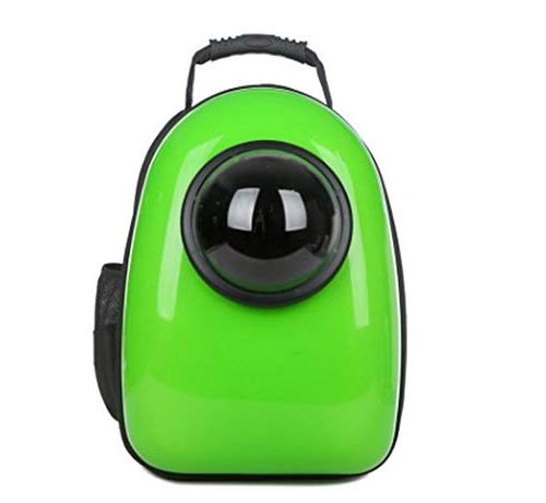 Portable Bag Capsule Breathable Kitty Dog Backpack Pet Supplies,Yellow,32x26x44