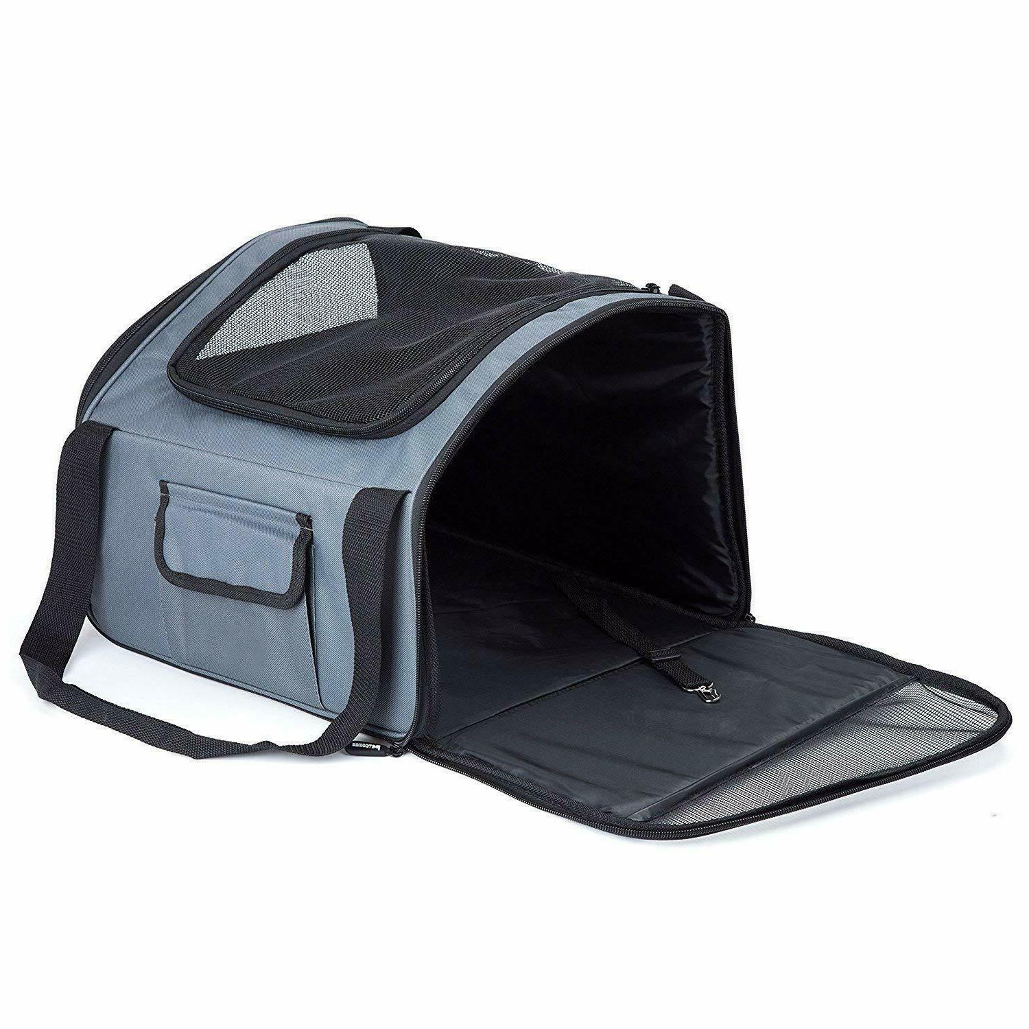 PetComer Pet Traveler Seat Carrier Airline for Puppy Small