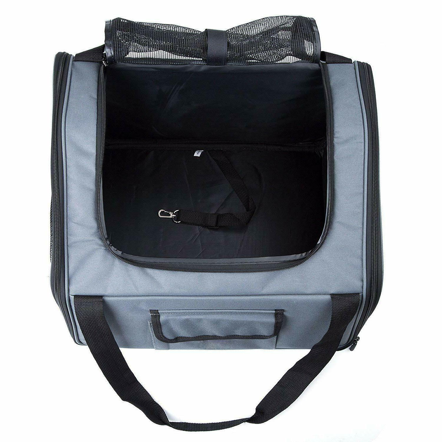 PetComer Pet Seat Carrier Airline for Dog Cat Small