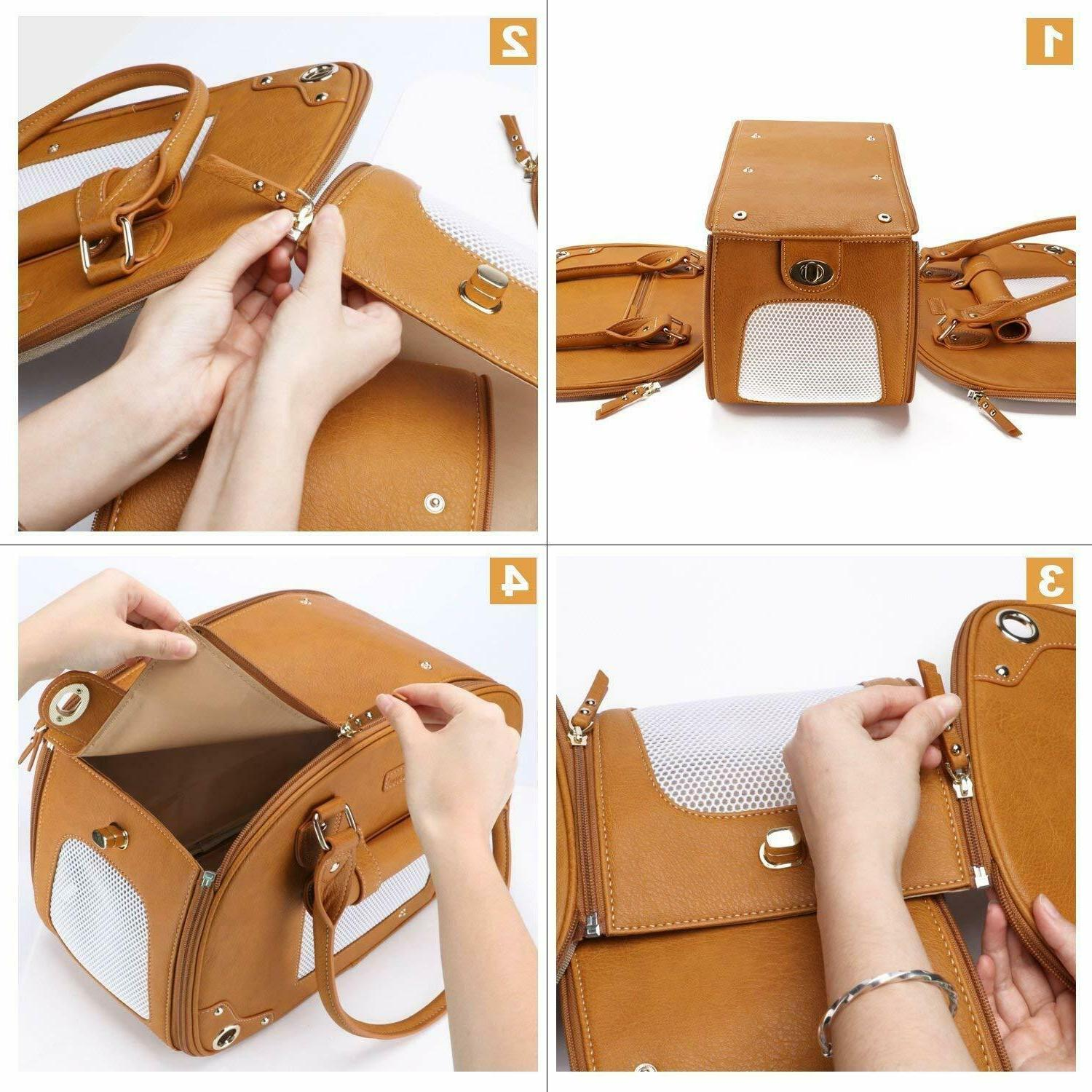 Portable Carrier Purse Screened
