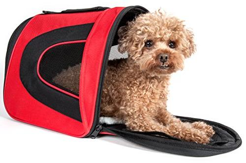 red black sporty mesh carrier