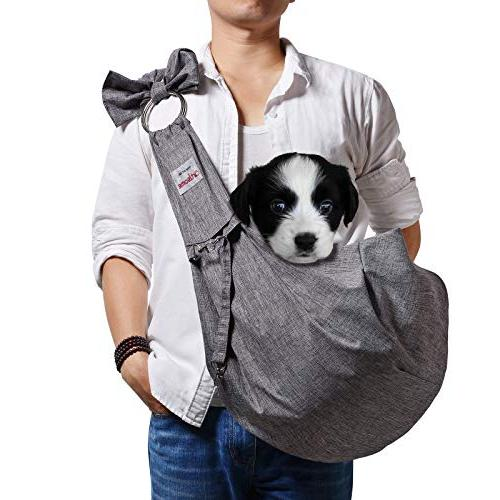 reversible dogs cats sling carrier