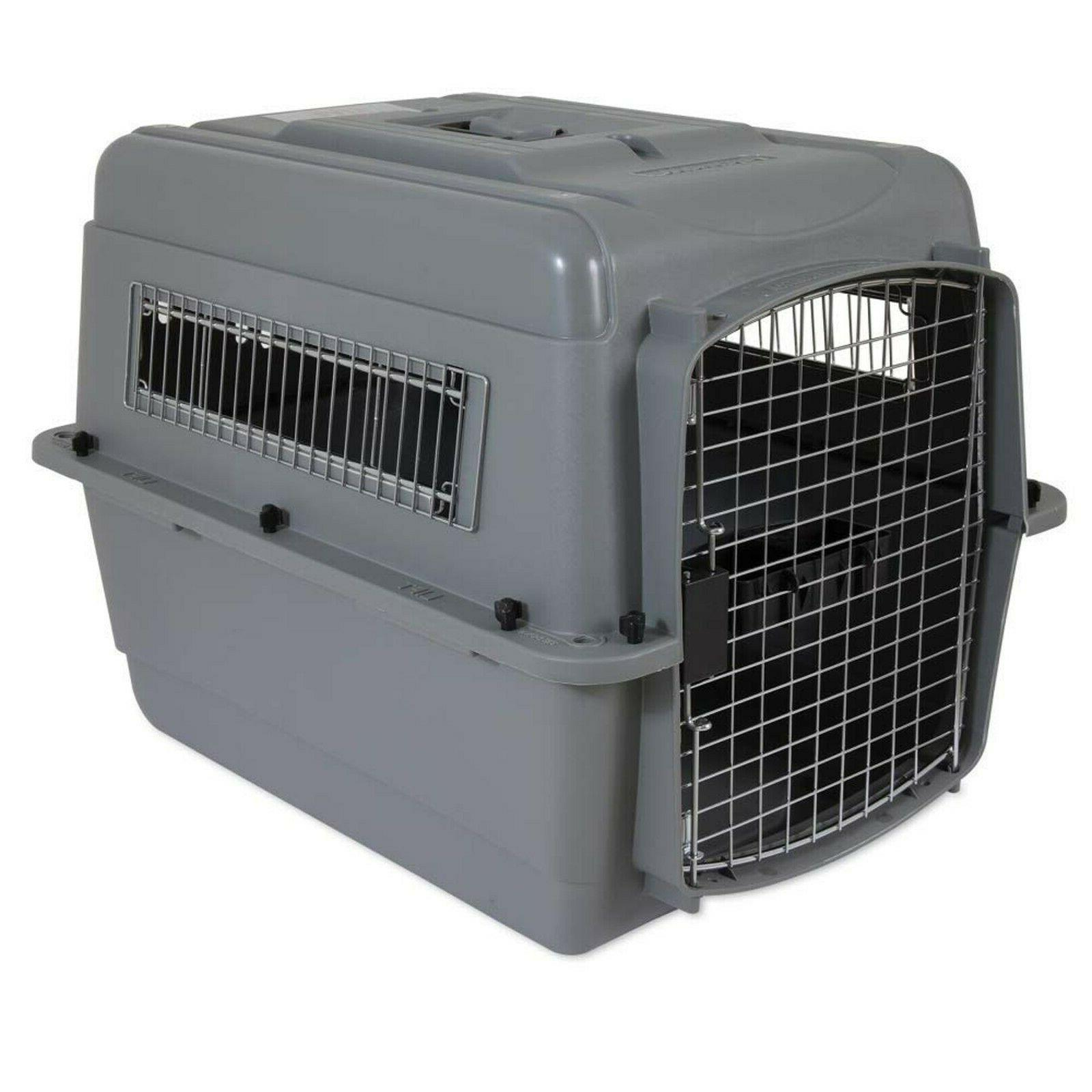 sky kennel portable dog crate plastic travel
