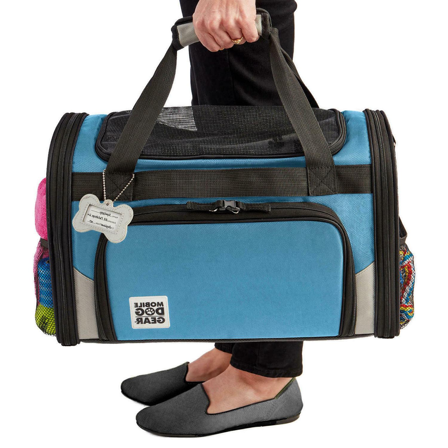 Mobile Dog Small Pet Carrier With