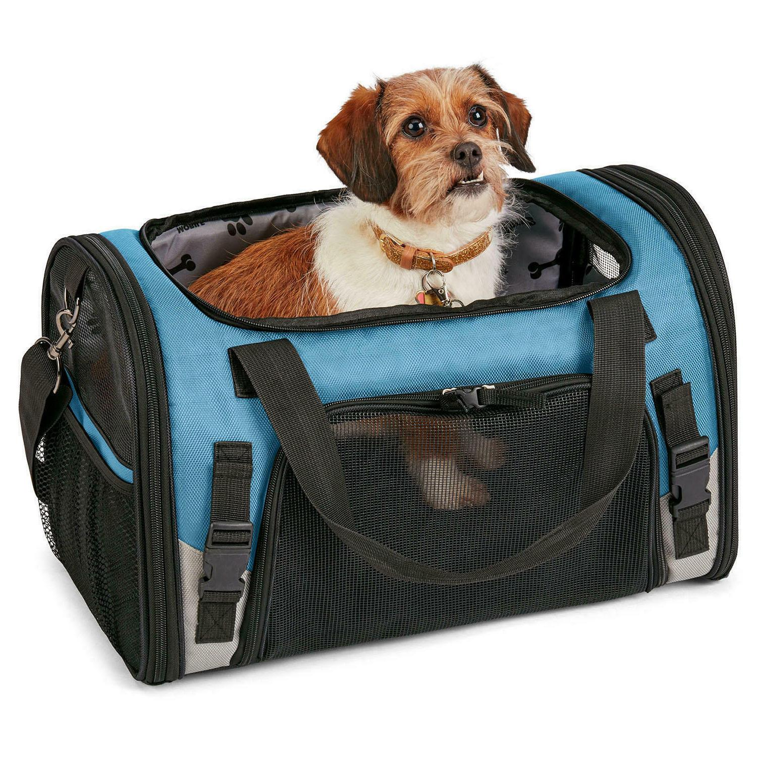 Mobile Dog Pet Carrier Seat Belt