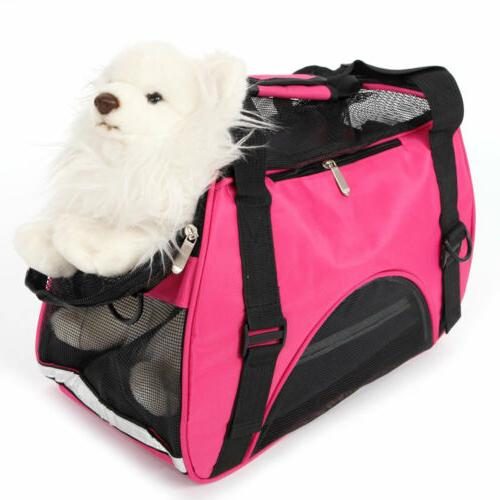 Small Carrier Tote Bag Cat Puppy Nylon Travel Airline Approved