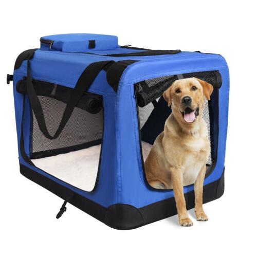 Dog Folding Crate, Indoor Home,