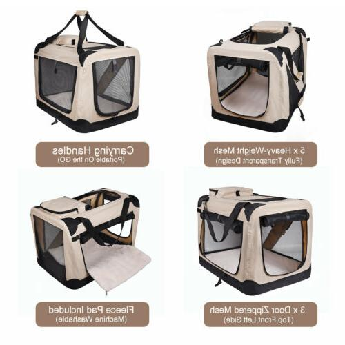 Dog Carrier EliteField Folding Crate, Home,