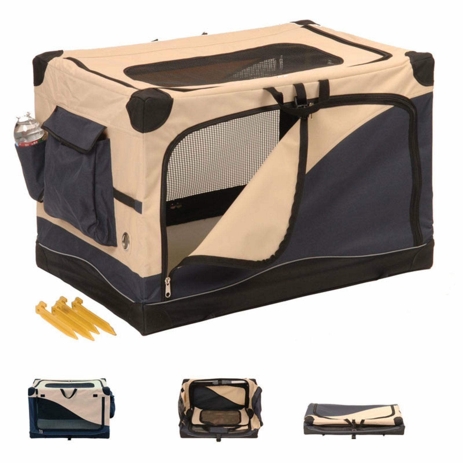 Soft Crate Travel Kennel Comfort