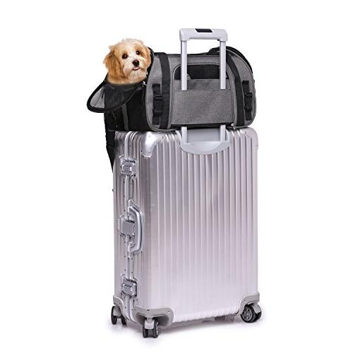 "Jespet for Small Dogs, Puppy, 17"" Airline Portable Airline,"